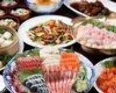 6,000円飲み放題コース 上刺身、寄せ鍋、中華料理4品、デザート