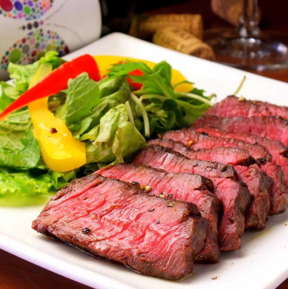 肉料理とワインのマリアージュを堪能