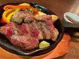 牛イチボの霜降りステーキ