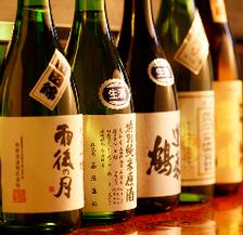 広島の銘酒を常時15種類前後をご用意