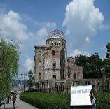世界文化遺産/原爆ドーム                        1921(大正10)年に「広島県商品陳列所」、1933(昭和8)年に「広島県産業奨励館」と改称され、地元製品の展示・販売をはじめ展覧会や博覧会などの文化イベントに利用されていました。