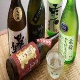 ◎飲み比べセット/広島の銘酒をおちょこに一杯づつ飲み比べ