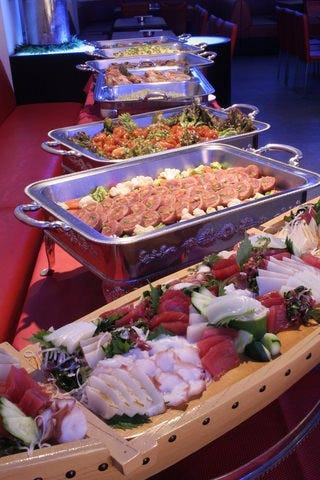 ◆充実したお料理に大満足!◆歓送迎会3500円プラン(3時間飲み放題&ビッフェ10品)