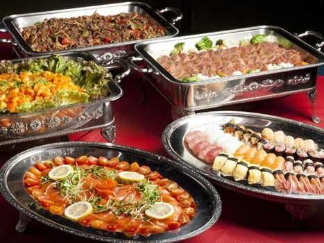 ◆寿司に舟盛も付いた贅沢なプラン!◆歓送迎会4000円プラン(3時間飲み放題&ビッフェ12品)