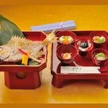 お食い初め膳 記念にお箸と歯固め石をプレゼント!!