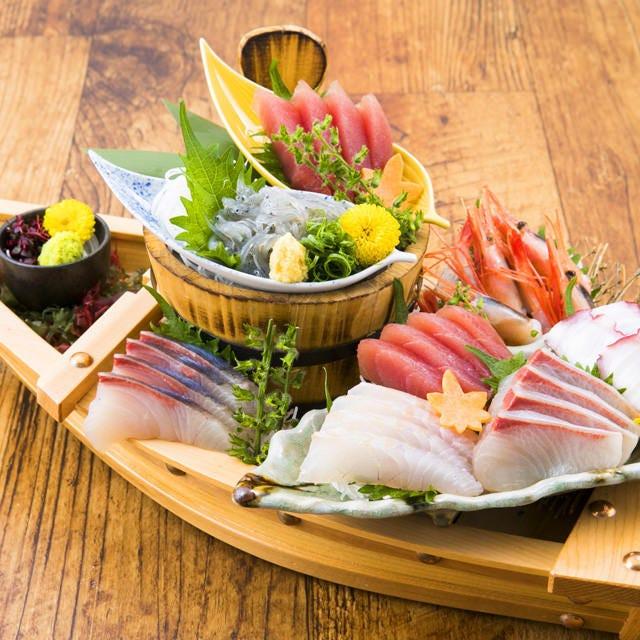 ▼新鮮!朝獲れ『江の島鮮魚』!