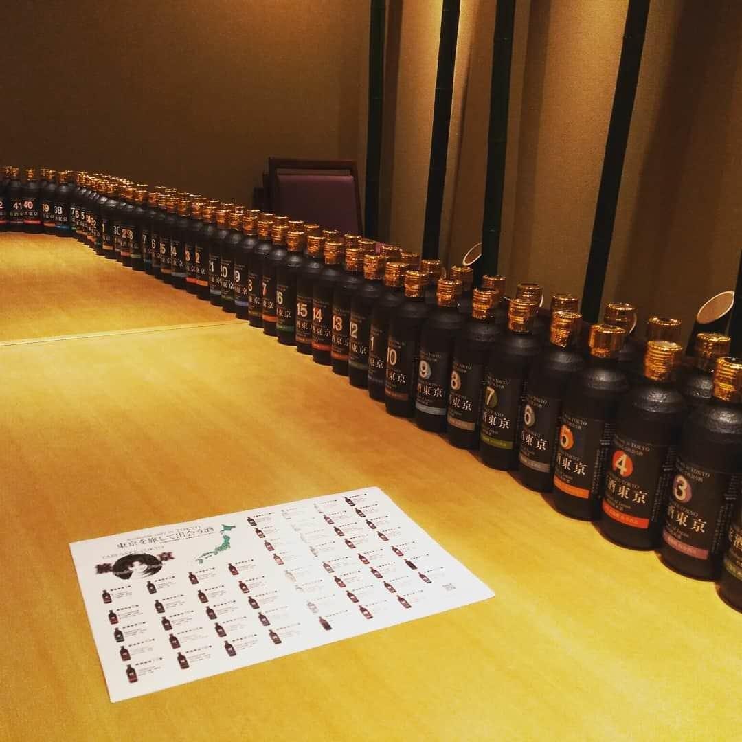 「旅酒東京」を全52種類取り揃え