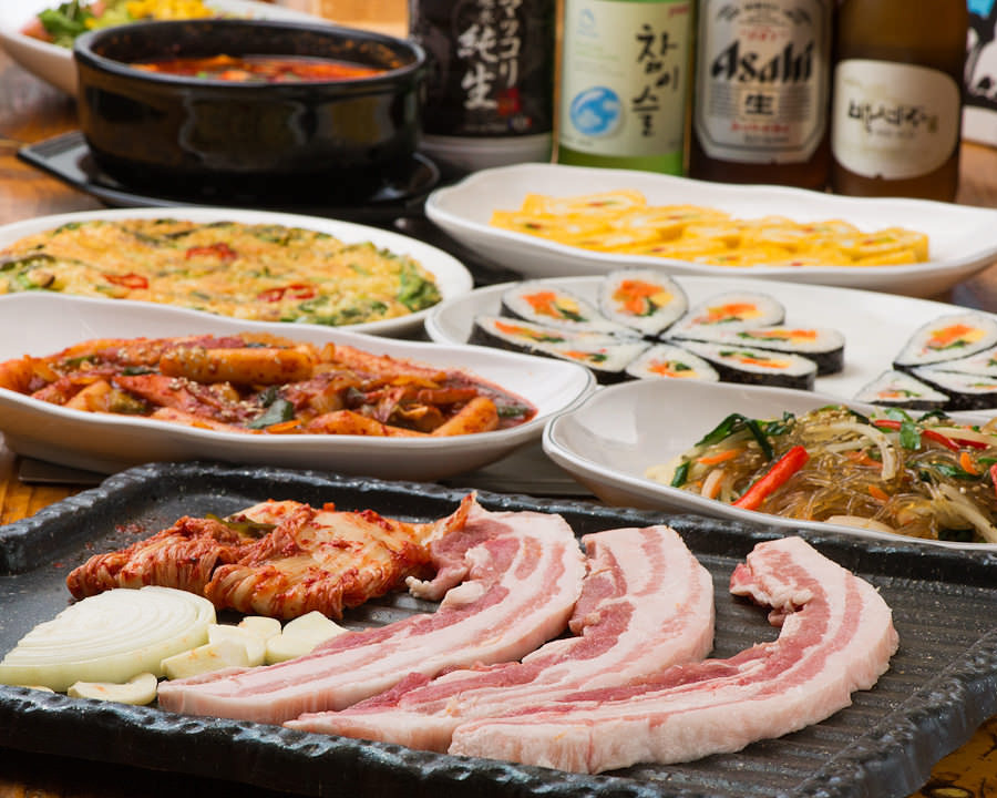 本格韓国料理で楽しく女子会♪ 【女性限定コース】3,000円~