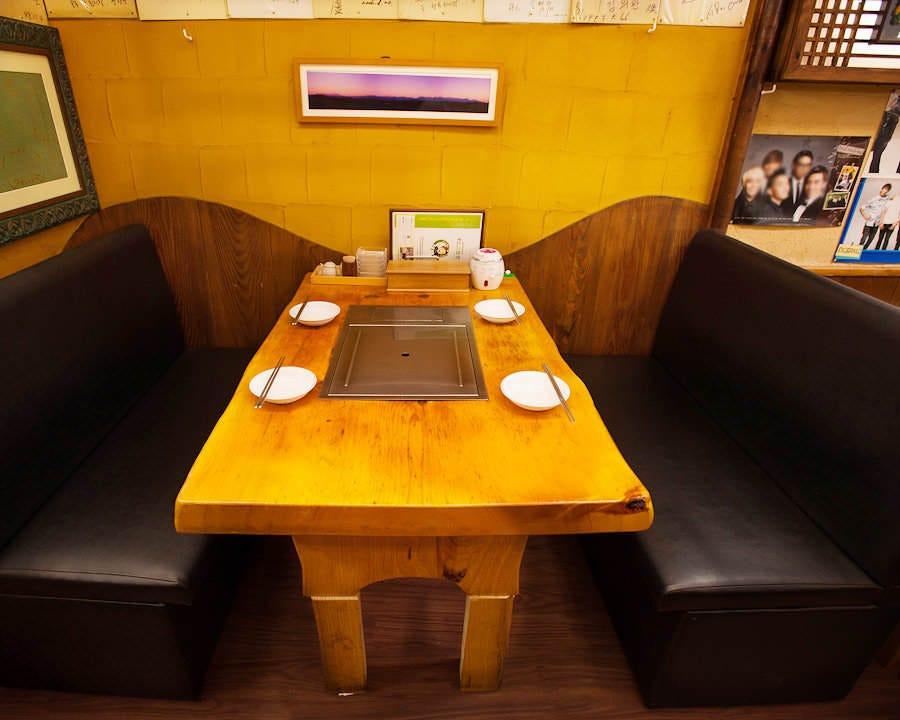 テーブル席・4名様~6名様