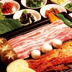 豚バラ肉(サンキョプサル)