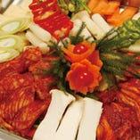 イカ&豚バラ鉄板焼き