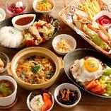 おつまみ~お食事メニューまで網羅!多彩なフードをご用意