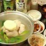 タッカンマリ鍋 3200円(税別)