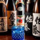 本格焼酎、銘酒など100種類以上飲めちゃいます!
