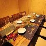 5~6名様向けテーブル個室