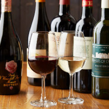 厳選ワインは、赤白各3種類