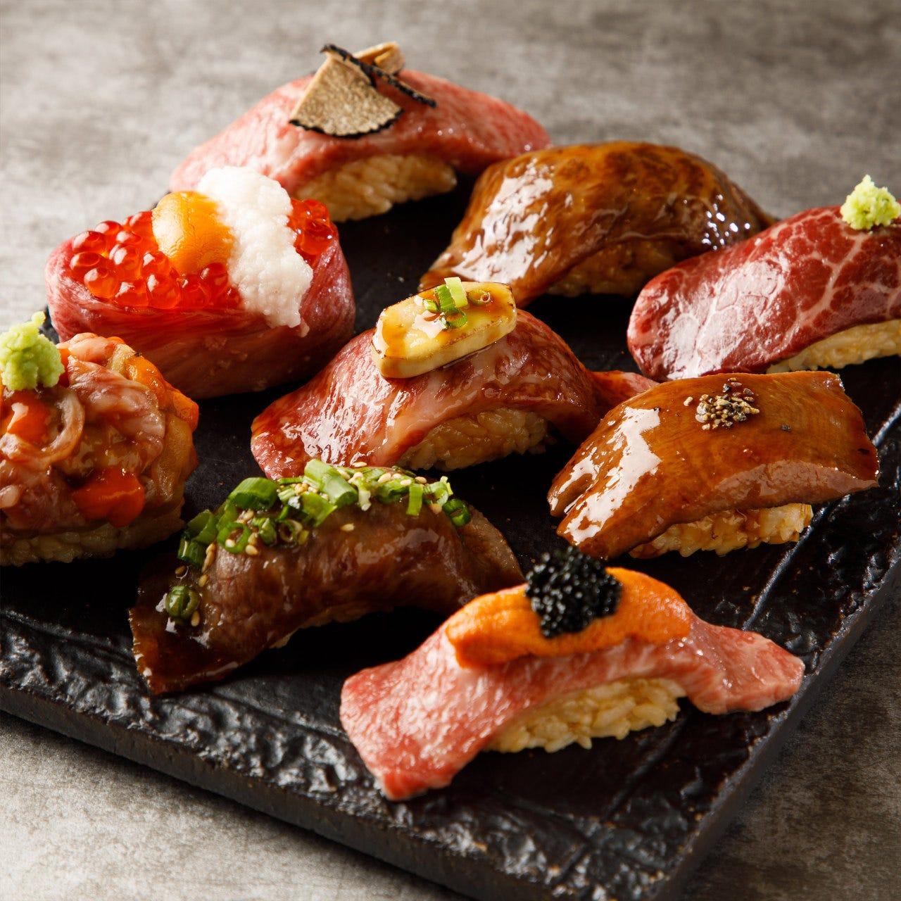 【仙台牛】本気の和牛寿司