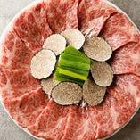 仙台牛をメインとした貴重部位&肉創作料理