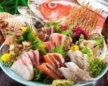 新鮮な海鮮料理をご用意! 鮮度が命です!