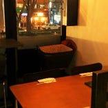 窓際テーブル席(2~5名様)