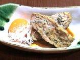◆人気No1◆ 自家製の鶏つくね焼き卵黄添え