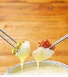 【おすすめ】チーズフォンデュdeチキンバジル