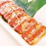 豚カルビのはちみつ黒胡椒焼き