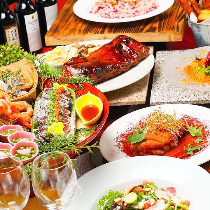 コースだけのオリジナル料理も◎ビアレストランで大満足の宴会