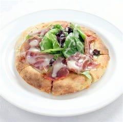 【手作り生地&奈良漬】白雪 酒粕ピザ