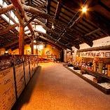 2Fには、白雪・小西酒造の歴史を展示したミュージアムが