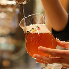 お店に醸造施設あり!コースの飲み放題でも楽しめるKONISHIビール