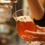 お店に醸造施設あり! コースの飲み放題でも楽しめるKONISHIビール