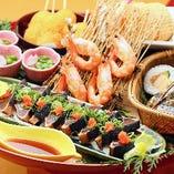日本酒によく合う高知県名物の皿鉢料理