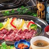 牛ハラミBBQランチ (ご飯・スープ・ナムル付)