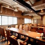 歓送迎会に最適!6~最大40名様まで様々な人数に対応できる個室テーブル席