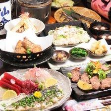 幸蔵 名物! 牡蠣・牛タン宴会5000円〔3h飲放付〕「特選コース」《全9品》