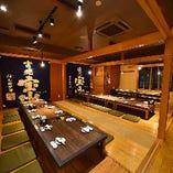 【上質空間】 和情緒溢れる個室や大人数宴会に◎な大広間を完備