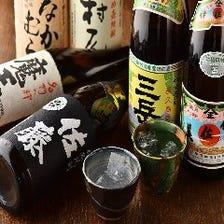 九州を中心に厳選した本格焼酎