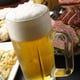 生ビールは焼き肉に合うスーパードライ!!