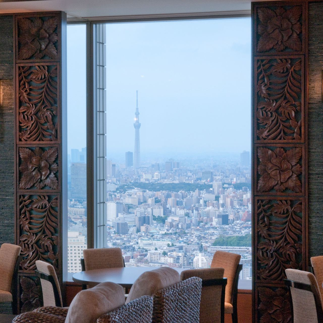 東京の街を一望できる爽快感が味わえます。