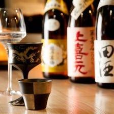 全国各地の地酒「驚愕の」1杯429円