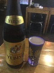 サッポロエビスビール(中瓶)