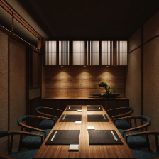 落ち着きある和室空間の完全個室