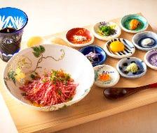 【祇園コース】人気の肉亭ユッケ・近江牛の肉寿司と選べる〆のご飯もの 近江牛極上部位の炭火焼き