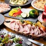 ◆パーティに◆ 食材を活かしたコースは4,000円(税込)より