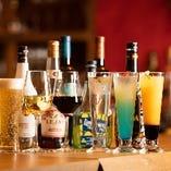 ◆大人の夜を◆ ワインカクテルやビールなど充実のラインナップ