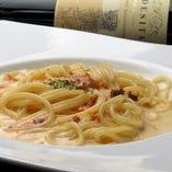 もちもちパスタの絶妙な食感が、料理の美味しさを引き立てます。