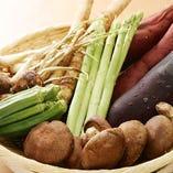 ブランド肉料理や地野菜を数多く取り扱っております