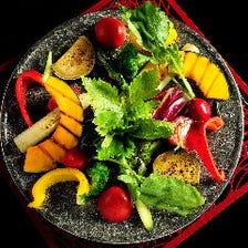 産直野菜 素材を生かしたイタリアン