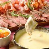 チーズとお肉たっぷり堪能♪